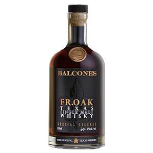 Balcones FR.OAK Texas (Batch 19-1) bottle.