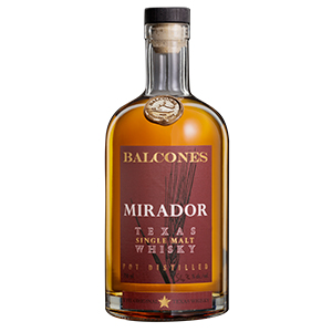Balcones Mirador Texas (Batch 20-1) bottle.
