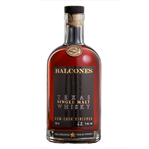 Balcones Rum Cask-Finished Texas (Batch R20-1) bottle.