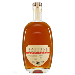 barrell new year 2021 bottle