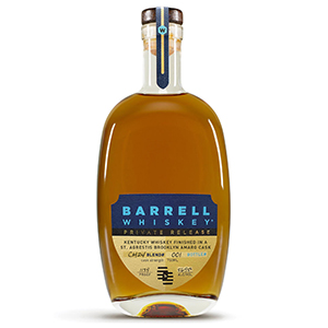 Barrell Private Release St. Agrestis Brooklyn Amaro Cask-Finished Kentucky Whiskey (Blend No. CH24) bottle.
