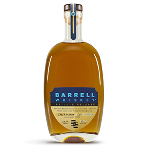 Barrell Private Release Hermann J. Wiemer Noble Select Josef Vineyard Riesling Barrel-Finished Kentucky Whiskey (Blend No. CH37) bottle.