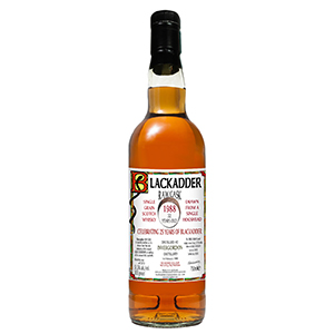 Blackadder 32 year old 1988 (Distilled at Invergordon) bottle.