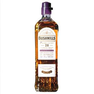 Bushmills 28 year old The Rare Casks Cognac Cask (Release No. 1) bottle.