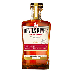 devils river single barrel bourbon bottle