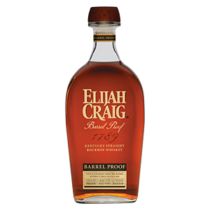 Elijah Craig Barrel Proof Kentucky Straight (Batch C920) bottle.