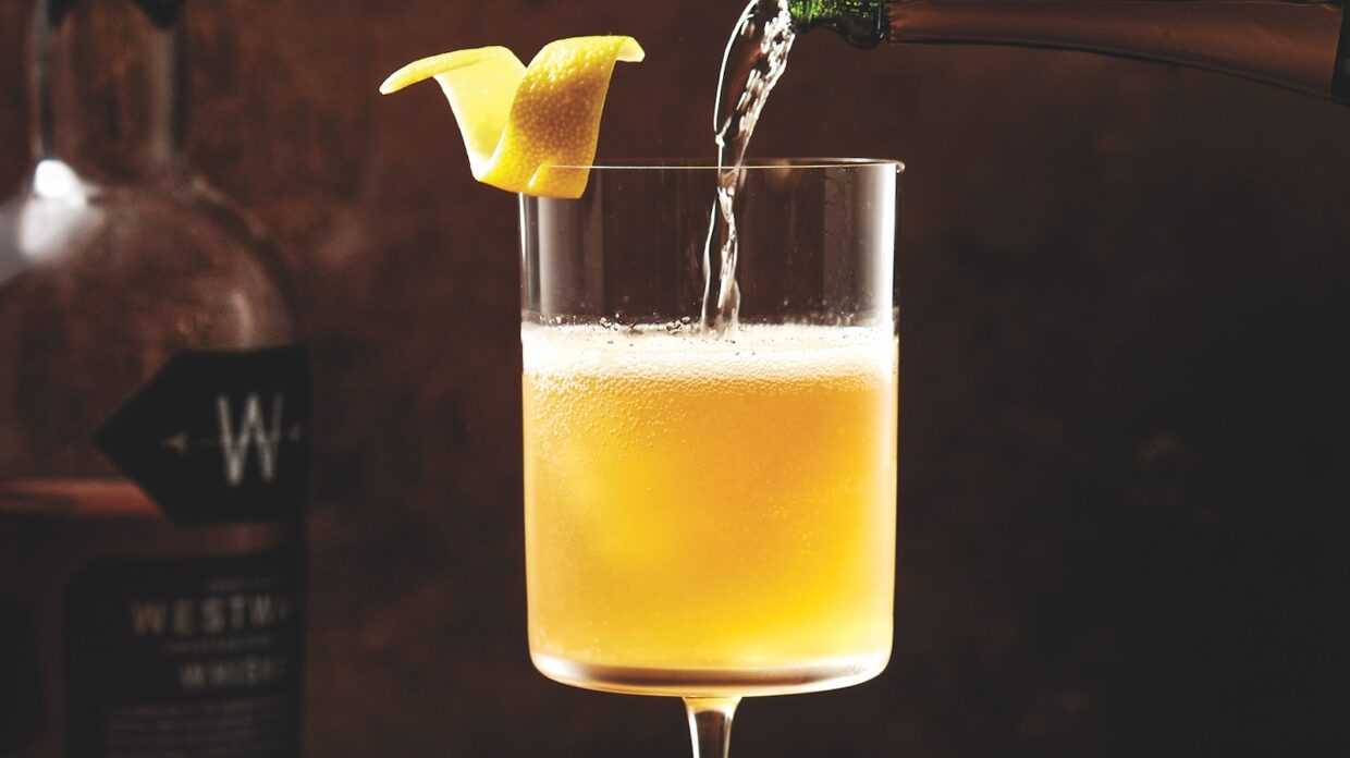 The Gilded Ape cocktail.