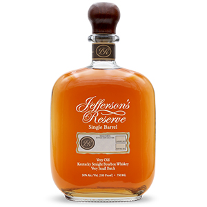 jefferson's reserve single barrel bourbon