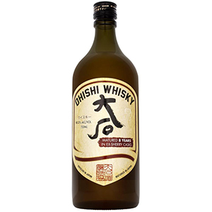 Ohishi 8 year old Sherry Cask-Finished (2020 Release) bottle.