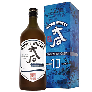 Ohishi 10 year old Brandy Cask-Finished (2020 Release) bottle.