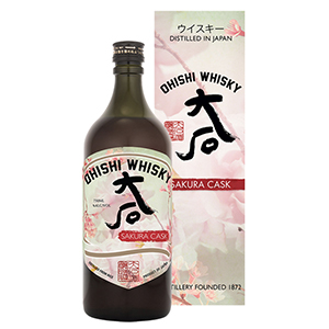 Ohishi Sakura Cask-Finished bottle.