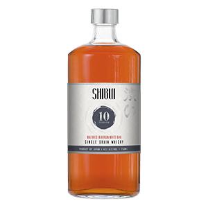 shibui 10 year old white oak cask single grain whisky