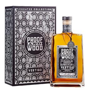 proof and wood vertigo blended whiskey