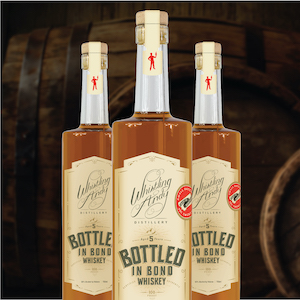 whistling andy bottled in bond corn whiskey