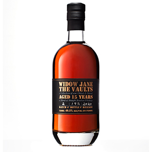 widow jane 15 year old the vaults 2020 bottle