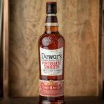 bottle of dewar's portuguese smooth blended scotch