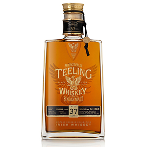Teeling Vintage Reserve Collection 37 year old bottle.