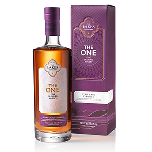 The Lakes The One Port Cask-Finished bottle.