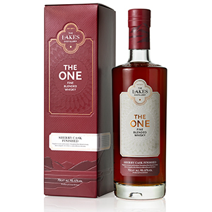 The Lakes The One Sherry Cask-Finished bottle.