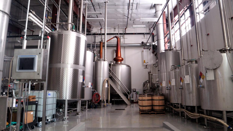 the still room at westward whiskey house spirits distillery in portland oregon
