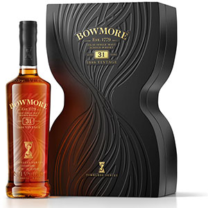 bowmore 31 year old timeless single malt scotch