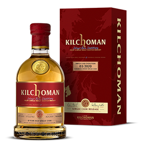 kilchoman impex cask evolution calvados cask single malt scotch