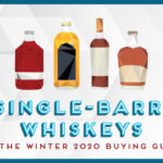 illustration of whiskey bottles