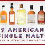 illustration of whisky bottles