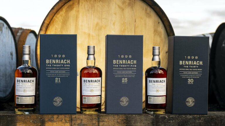 Well-Aged (and Smoky) Benriach, An Unusual Rye Finish & More Whiskey [NEW RELEASES]