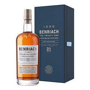 benriach the twenty one scotch