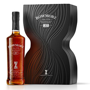 bowmore 27 year old timeless single malt scotch