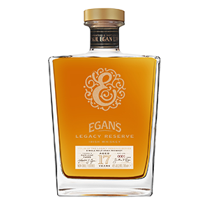 egan's legacy reserve III irish single malt whiskey