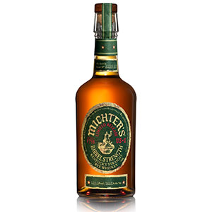 michter's barrel-strength straight rye 2021 release