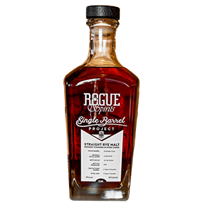 rogue 8 year old malted rye single barrel project