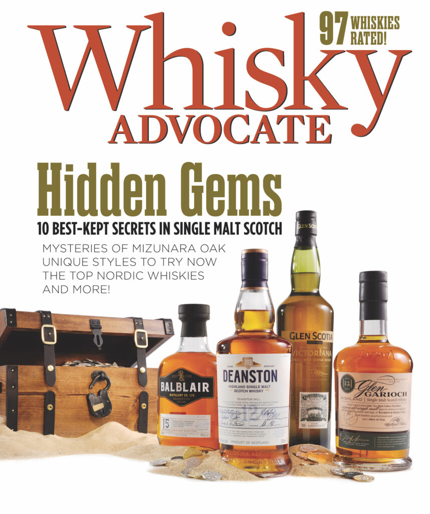 Spring 2021 cover of Whisky Advocate magazine