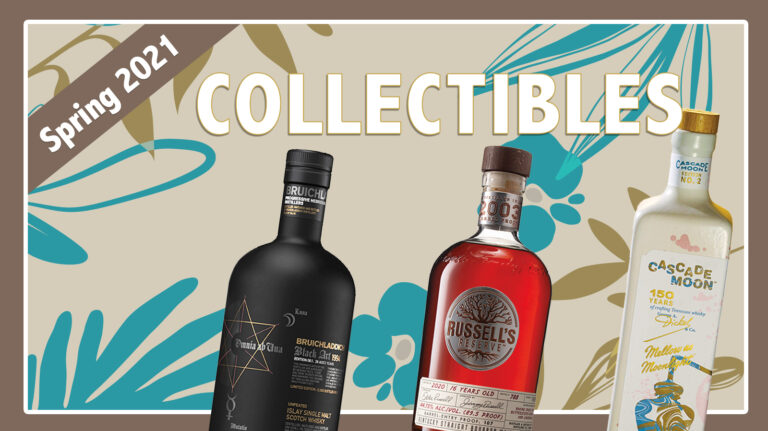 Spring 2021 Collectibles: Bruichladdich, Cascade Moon, Russell's Reserve
