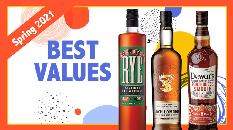 Spring 2021 Best Values: Loch Lomond, Roulette Rye, Dewar's
