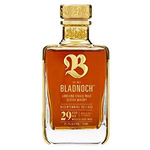 bladnoch 29 year old bicentennial scotch