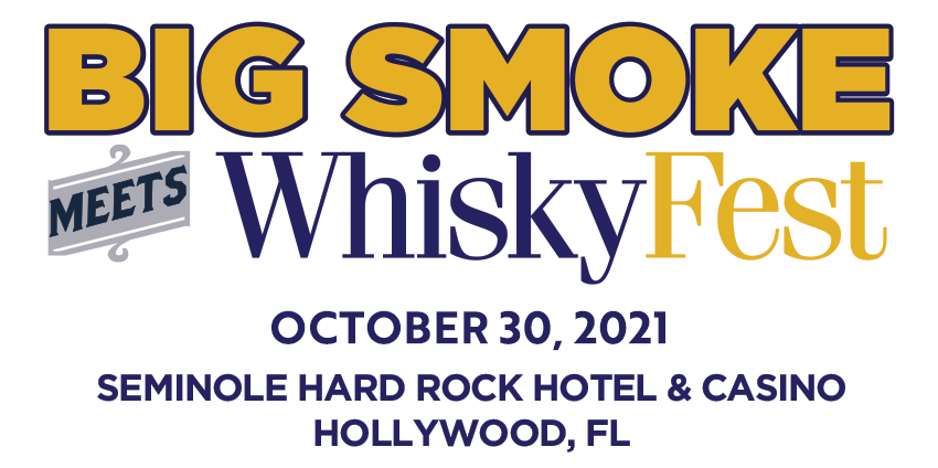 BigSmoke meets WhiskyFest, October 30, 2021. Seminole Hard Rock Hotel & Casino. Hollywood, Florida