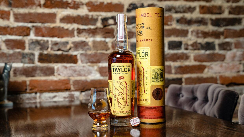 bottle of col. e.h. taylor jr bottled in bond bourbon chosen by chris stapleton