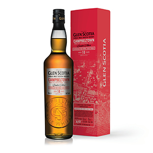 Glen Scotia 10 year old Bordeaux Wine Cask-Finished Campbeltown Malts Festival (2020 Release).