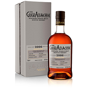 glenallachie 2006 14 year old single port pipe scotch