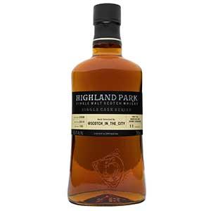 highland park scotch in the city single cask