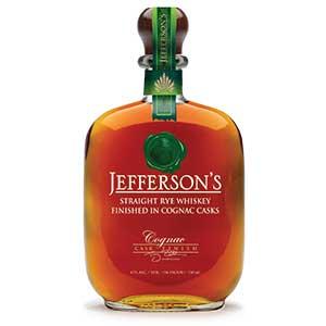 jefferson's cognac finished rye
