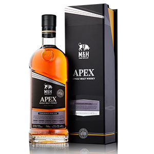m and h distillery apex collection pomegranate wine cask finish