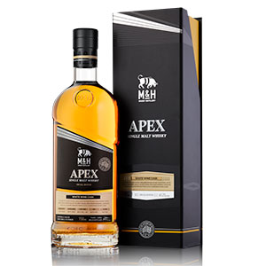 m and h distillery apex collection white wine cask finish