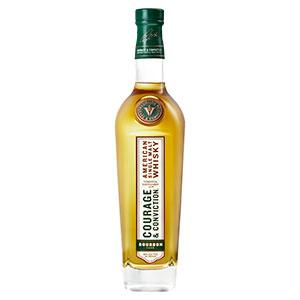 virginia distillery co. courage and conviction bourbon cask american single malt