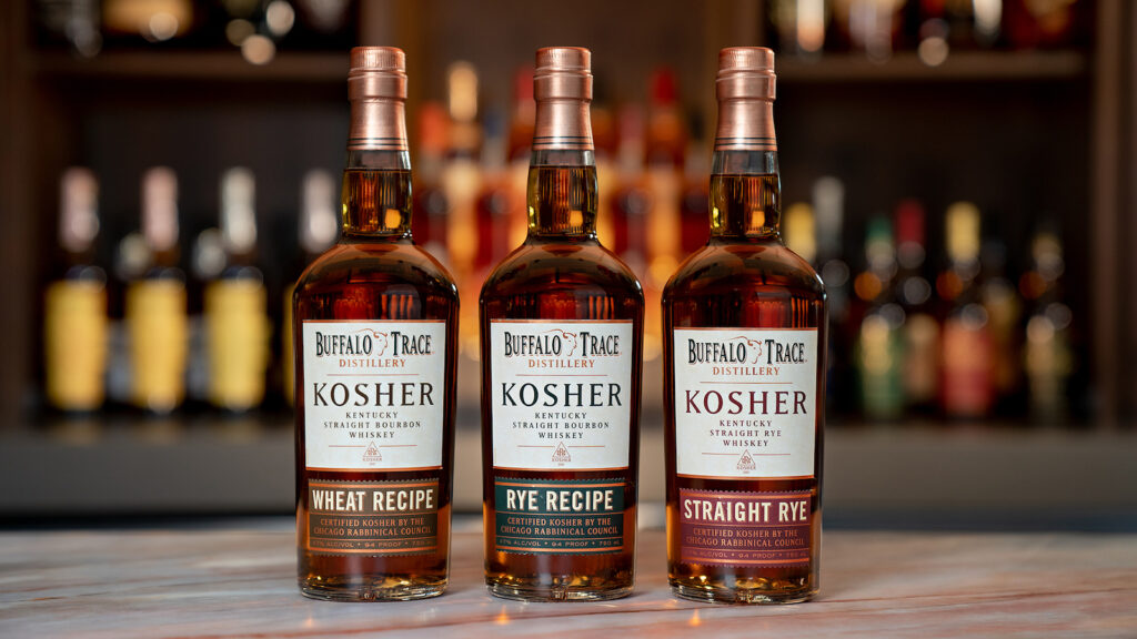 buffalo trace distillery's kosher bourbons and rye
