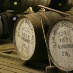 barrels of aging glen garioch whisky