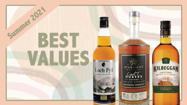 Summer 2021 Best Values: Kilbeggan, Loch Fyll, Starlight Distillery